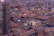 View from the Asinelli Tower, 1996