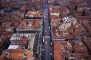Via Indipendenza in Bologna, 1996
