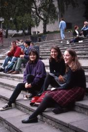Students at University of East Anglia, 1995