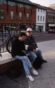 Students in Norwich, 1995