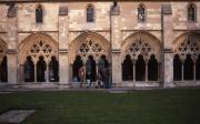 Students at Norwich Cathedral, 1995
