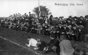 Watching the Game, 1914