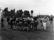 Team Huddle, c.1935