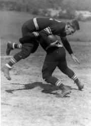 Tackle, Football Team, 1937