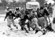 Football in the Snow, 1963