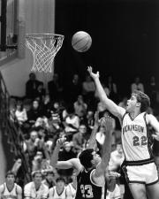 Workman Lays Up the Ball, 1986