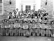 Women's Class Basketball Teams, 1937