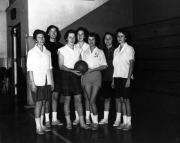 Class of 1962 Women's Basketball Team, 1960