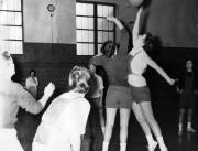 Women's Basketball Practice, c.1960