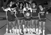 Women's Basketball Team, ECAC Victory, 1983