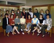 Women's Basketball Team, 1986