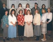 Women's Basketball Team, 1988
