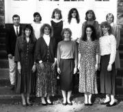 Women's Basketball Team, 1990