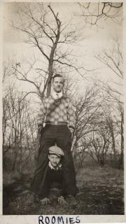 Two students, 1928