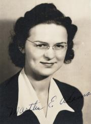 Martha Elizabeth Adams, 1932