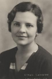 Betty Lou Walker, 1932