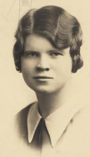 Sara E. Whitcomb, 1931