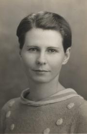 Mary Elizabeth Bate, 1933
