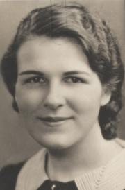 Ruth Eleanor Upham, 1933