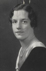 Jeanne Whittaker, 1933