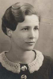 Frances E. Yard, 1933
