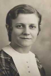 Gertrude A. Yeager, 1933