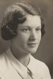Helen Margaret Baker, 1934