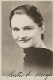 Ruth Louise Beegle, 1937