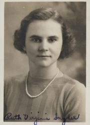 Ruth V. Snyder, 1938