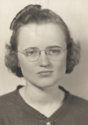 Dorothy Mae Williams, 1938