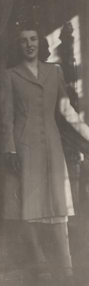 Virginia Irene Anderson, c.1940