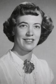 Ruth Eileen Baumeister, 1954