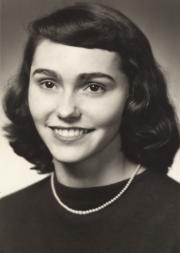 Mary Ann Walter, 1956