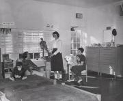 Dorm room in Mathews House, c.1960