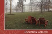 Adirondack chairs on the Academic quad, c.2000