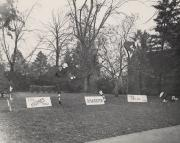 Homecoming spirit display, 1949