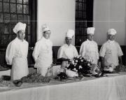Homecoming buffet chefs, 1951