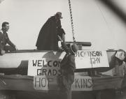 Homecoming boat, 1951