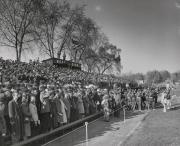 Crowd at Homecoming football game, 1952