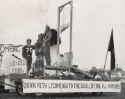 Homecoming float, 1956