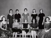 Female Students at Homecoming, 1956