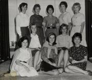 Homecoming queen candidates, 1962