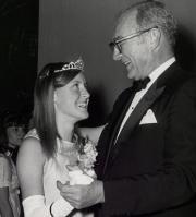 Homecoming queen dance, c.1965