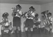 Oktoberfest band at Homecoming, 1981