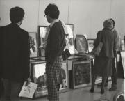 Art show at Homecoming, 1982