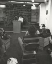 Alumni at Homecoming, 1982