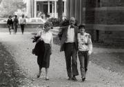 Family at Homecoming, 1985
