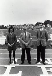 Alumni at Homecoming, 1993