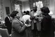 Reception for African American Alumni at Homecoming, 1996