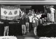 Phi Delta Theta brothers at Homecoming, 1996